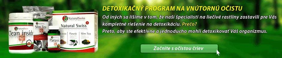 Program Clean Inside očista čriev